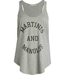 whitney martini tank top