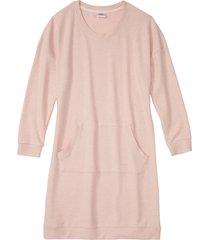 camicia da notte in tessuto morbido (rosa) - bpc bonprix collection