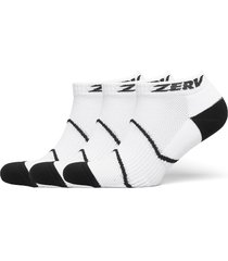 zerv premium socks short 3-pack ankelstrumpor korta strumpor vit zerv
