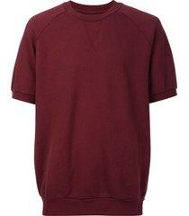 321 shortsleeved sweatshirt - red