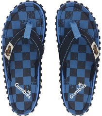 sandalias chanclas gumbies unisex islander checker.