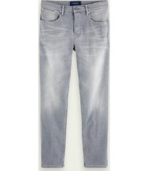 scotch & soda the norm - stone and sand | high-rise straight fit jeans