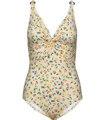 lucca swimsuit baddräkt badkläder multi/mönstrad missya