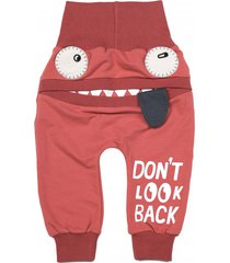 spodnie diavolo antique red