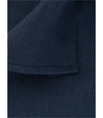 michaelis overhemd navy twill bloem contrast cutaway ml7 slim fit