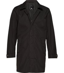 rex usx coat dunne lange jas zwart didriksons
