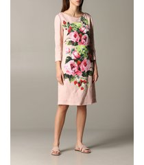 blumarine dress blumarine dress with rose print