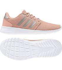 tenis lifestyle palo rosa adidas qt racer f34787  envio gratis