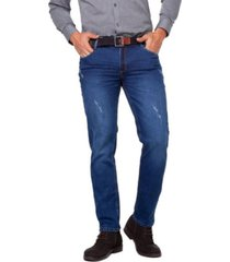 jeans casual colombiano milan azul  daxxys jeans