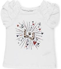 liu-jo ruffled t-shirt