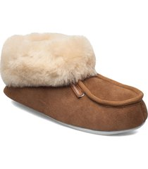 moa slippers tofflor brun shepherd