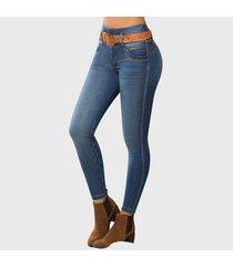 jeans push up harrison azul medio tyt jeans