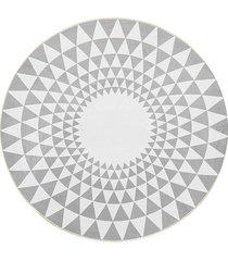 100cm gris triángulo ronda de alfombras alfombras salón área suelo yoga mat - 80cm