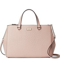 kate spade new york women's loden leather crossbody bag - pink