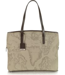 "alviero martini 1a classe designer handbags, 1a prima classe - geo printed large business ""new classic"" shoulder bag"