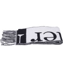 alexander mcqueen branded scarf