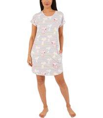 munki munki striped snoopy nightgown