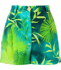 jungle print shorts