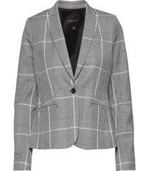 classic-fit washable bi-stretch blazer blazers business blazers grå banana republic