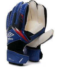 guantes azules-negros-blancos umbro goalkeeper gloves