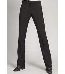pantalón mujer capri negro liola