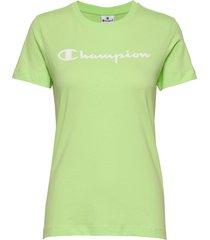 crewneck t-shirt t-shirts & tops short-sleeved grön champion