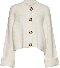 caress cardigan stickad tröja cardigan creme designers, remix