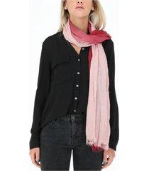 pañuelo bicolor rosa humana