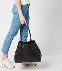 kate spade new york women's everything puffy nylon large tote bag - black