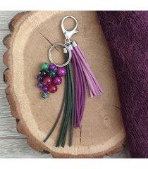 brelok / zawieszka do torebki lavender iii