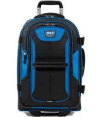 "bold 22"" 2-wheel softside carry-on"