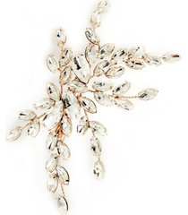 brides & hairpins isadora crystal hair clip, size one size - pink