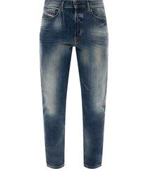 d-fining ruwe rand jeans