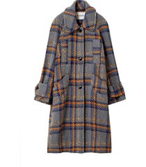 lonore check coat
