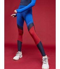 tommy hilfiger women's mesh logo legging surf the web - l