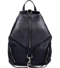 rebecca minkoff julian backpack in black leather