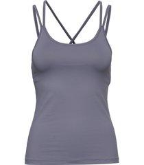 cross back yoga top t-shirts & tops sleeveless blå filippa k soft sport