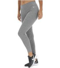 calça legging oxer ace - feminina - cinza escuro