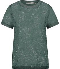 aaiko blouse fleuron groen