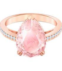 anillo de cóctel vintage, rosa, baño en tono oro rosa 5509670