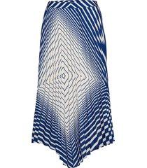 vivanka knälång kjol blå boss