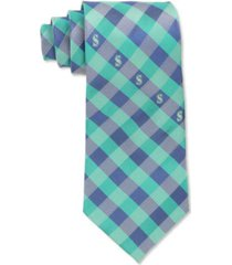 eagles wings seattle mariners checked tie