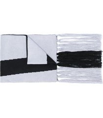 a-cold-wall* logo scarf - black
