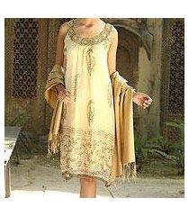 embellished dress, 'gujarat glitz' (india)