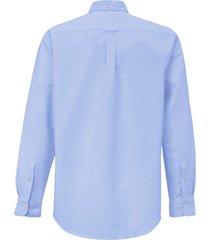 overhemd van gant blauw