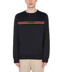 paul smith artist stripes sweatshirt