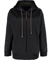 fendi full zip hoodie