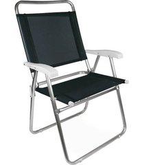 cadeira master plus alumínio