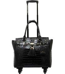 bolso de viaje glam negro executive