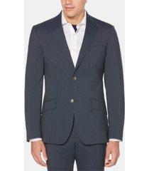 perry ellis men's slim-fit striped suit jacket